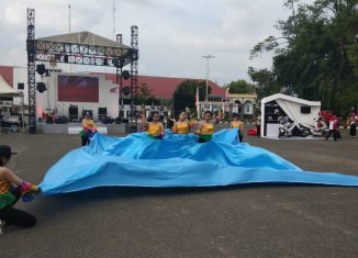 Dance Competition Ramaikan Honda Premium Matic Day Banjarbaru