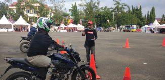 Honda Premium Matic Day Banjarbaru, Diramaikan Safety Riding Competition
