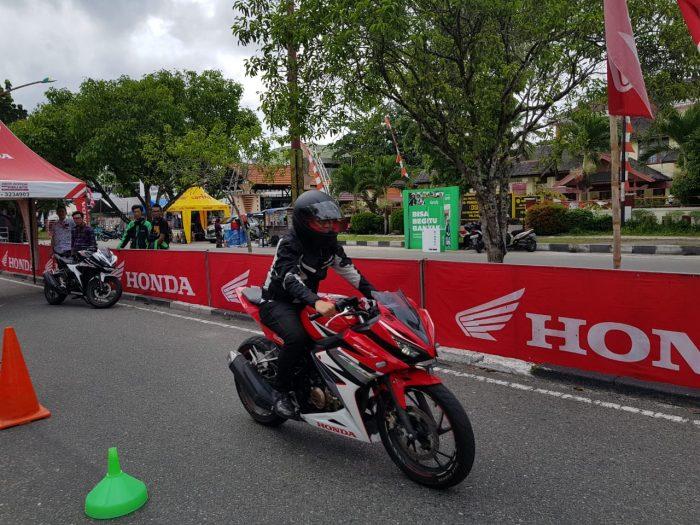Honda Sport Motorshow Ramaikan Palangkaraya, Sampit Jadi Kota Selanjutnya
