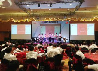 Bersinergi Bersama Jaringan Dealer Honda Kalselteng, Trio Motor Berikan Penghargaan
