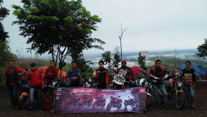 Festival Motor Laki, Komunitas Honda CB 150R Camping Bareng di Tahura