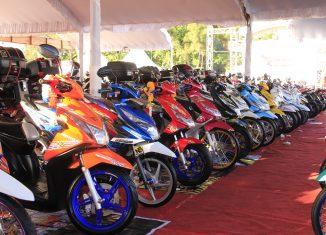 226 Motor Honda Modifikasi Ramaikan Honda Modif Contest