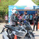 Ajak Konsumen dan Wartawan, Trio Motor Gelar Riding Test Honda Genio dan ADV 150