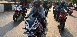 Jadi Tuan Rumah Jambore Nasional, Kentalnya Persaudaraan Bikers Honda