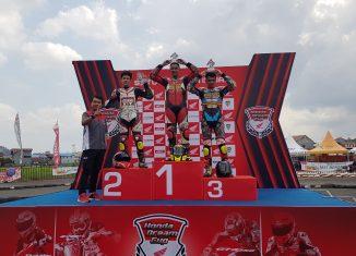 Honda GTR 150 Bawa Pembalap Banua Juara Honda Dream Cup Seri Kaltim