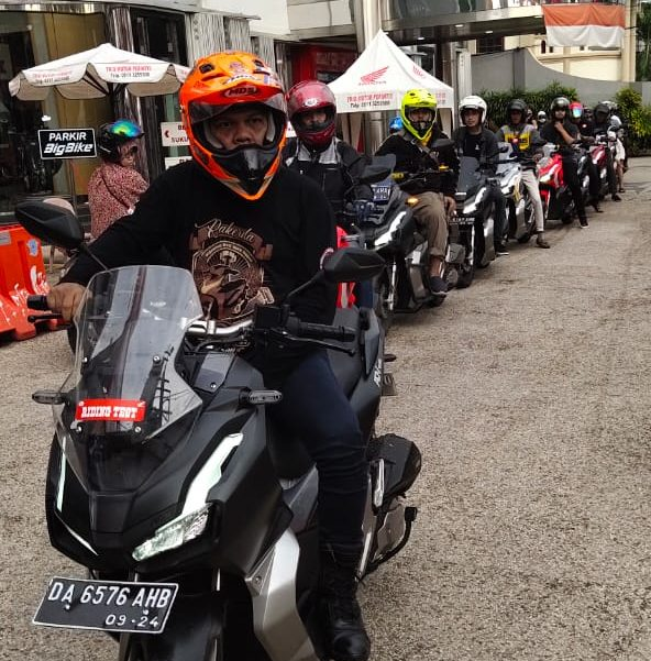 ADV 150 Urban Explore Ride, Ajak Kamu Nikmati Tenaga Honda ADV 150