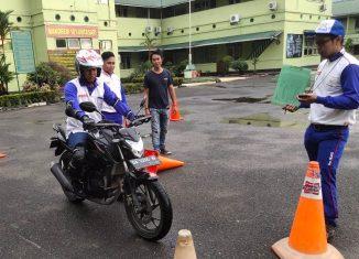 Rangkul Komunitas, Trio Motor Gelar Safety Riding Competition