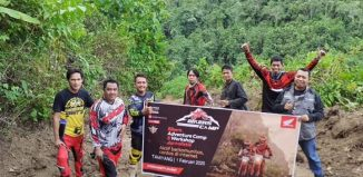 Bikers Adventure Komunitas Trail Honda, Ajak Cermat Bersosial Media