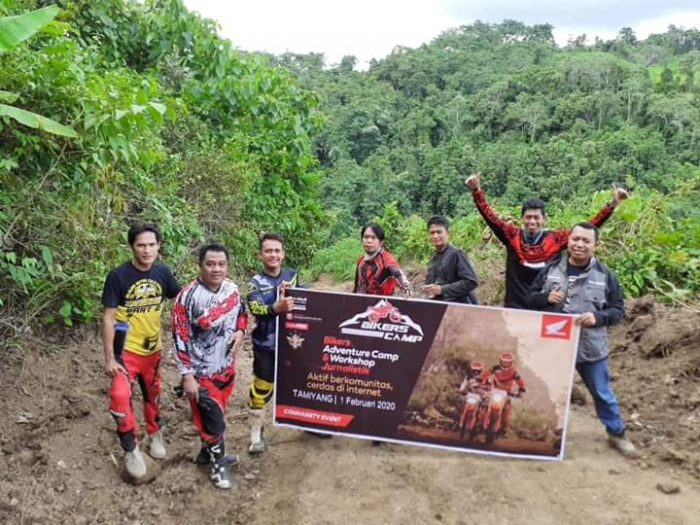 Bikers Adventure Komunitas Trail Honda, Ajak Cermat Bersosial Media