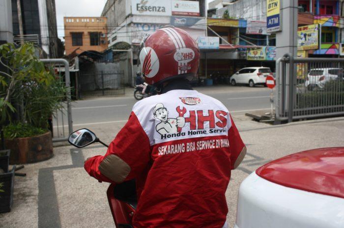 Honda Home Service Berikan Fasilitas Service ke Rumah