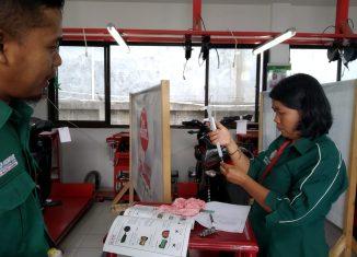 Trio Motor Sertifikasi Guru SMK TBSM Binaan Honda