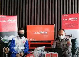 Sosialisasi Online: Trio Motor Tetap Gencar Kampanyekan #Cari_Aman Berkendara