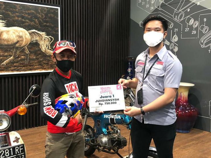 Juhdiansayah, Juara 1 Honda Gowes Challange