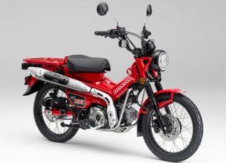 AHM Luncurkan Motor Bebek Trekking Honda CT125
