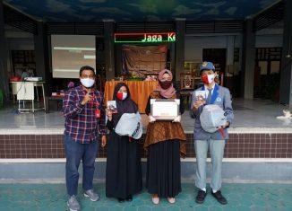 Trio Motor dan Polresta Edukasi Keselamatan Berkendara di SMKN 1 Banjarmasin