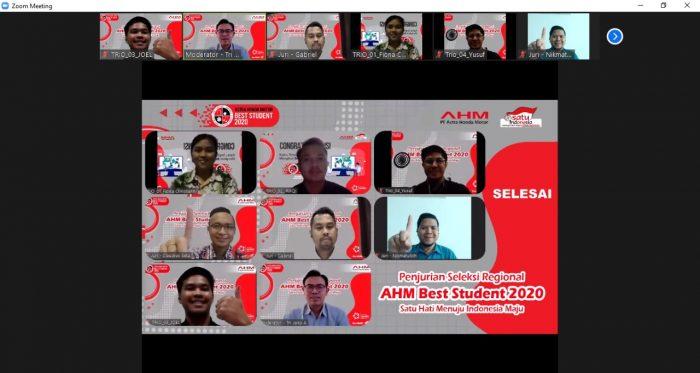 Dua Siswi SMAN 1 Banjarmasin Wakili Trio Motor di AHM Best Student Nasional
