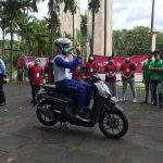 Trio Motor dan Satlantas Polresta Banjarmasin Sosialisasikan Safety Riding Bagi Klien Pemasyarakatan